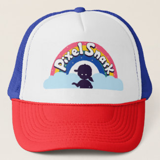 PixelSnark Logo Trucker Hat