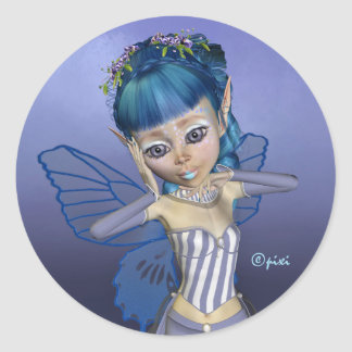 Pixi Blues Stickers