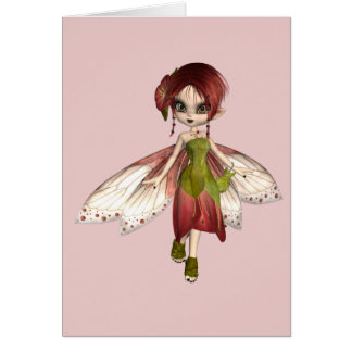 Pixidreams Fae - Greeting Card
