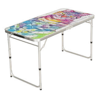 Pixie1 Art10 Beer Pong Table