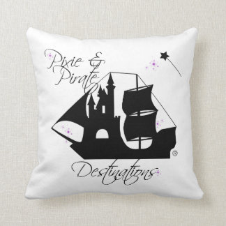 Pixie and Pirate Destinations Pillow