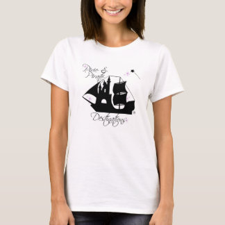 Pixie and Pirate Destinations Shirts