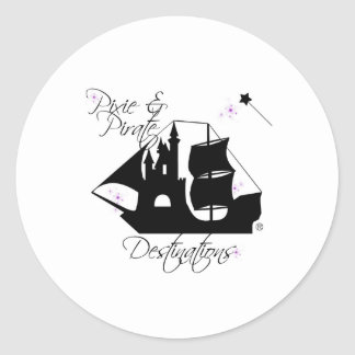 Pixie and Pirate Destinations Stickers