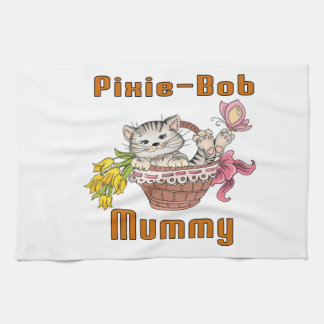 Pixie-Bob Cat Mom Kitchen Towel