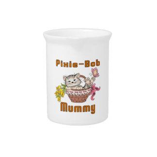 Pixie-Bob Cat Mom Pitcher