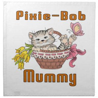 Pixie-Bob Cat Mom Printed Napkin