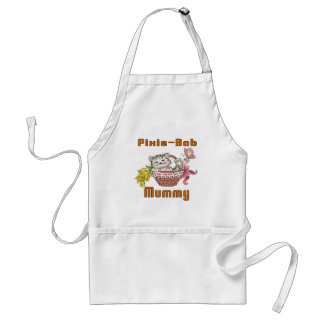 Pixie-Bob Cat Mom Standard Apron