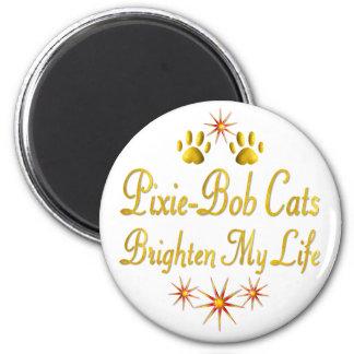 Pixie-Bob Cats Brighten My Life Magnet