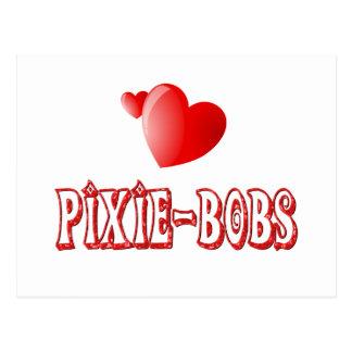 Pixie-Bob Love Postcard