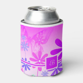 Pixie Flower Butterflies 2 Can Cooler