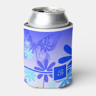 Pixie Flower Butterflies 3 Can Cooler