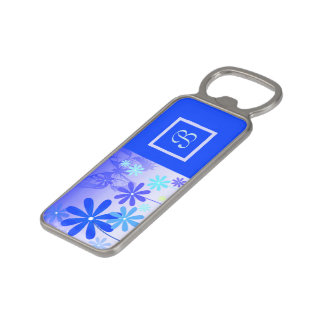 Pixie Flower Butterflies 3 Magnetic Bottle Opener