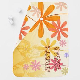 Pixie Flower Butterflies Baby Blanket