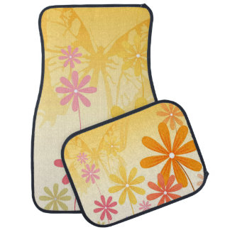 Pixie Flower Butterflies Car Mat