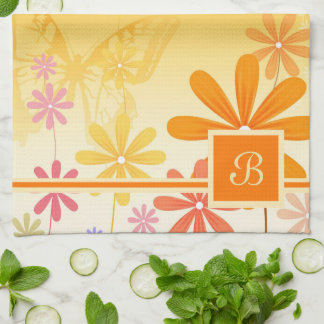 Pixie Flower Butterflies Kitchen Towel