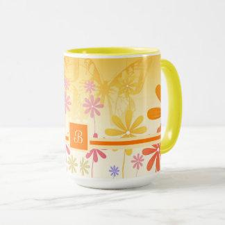 Pixie Flower Butterflies Mug