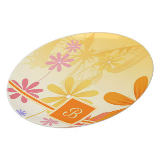 Pixie Flower Butterflies Plate
