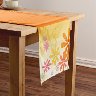 Pixie Flower Butterflies Short Table Runner