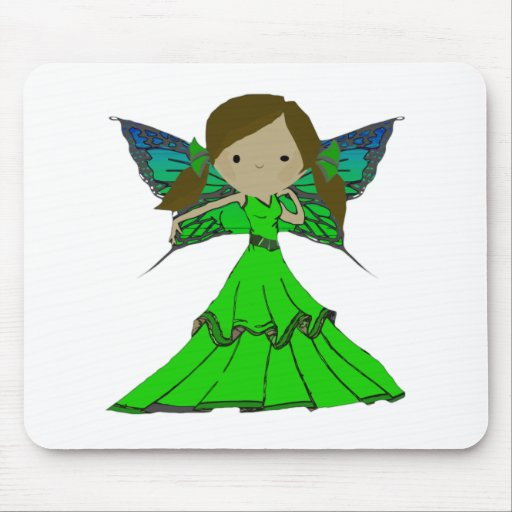 Pixie Girl Trixie Mouse Pad