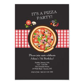 Piza Pie Invitation