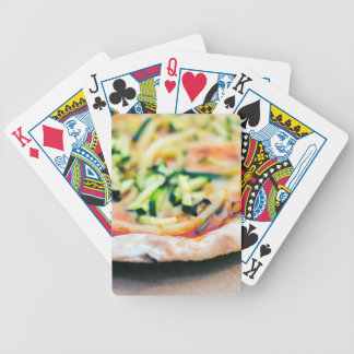 Pizza-12 Bicycle Playing Cards