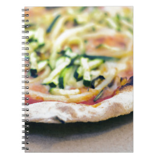 Pizza-12 Spiral Notebook