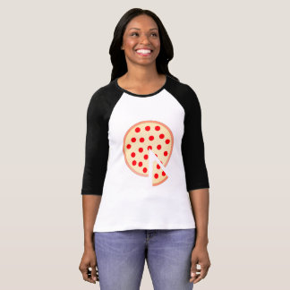 Pizza 3/4 Sleeve Shirt