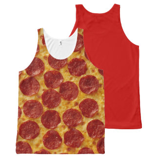 PIZZA All-Over-Print TANK TOP