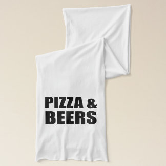 Pizza And Beers Scarf