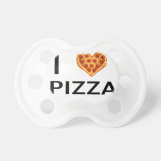Pizza and love pacifiers
