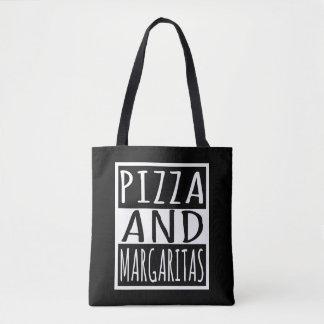 Pizza And Margaritas Tote Bag