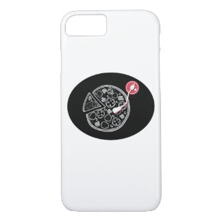 Pizza and Music iPhone Case