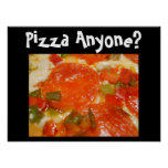 Pizza Anyone? Poster