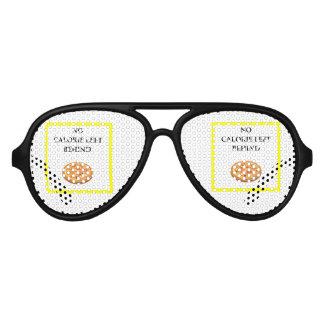 pizza aviator sunglasses