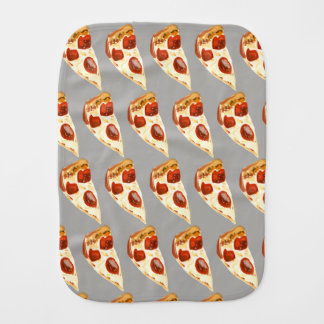 Pizza Baby Burp Cloth