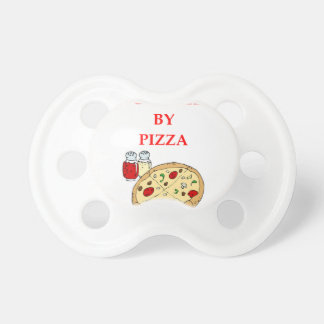 PIZZA BABY PACIFIER