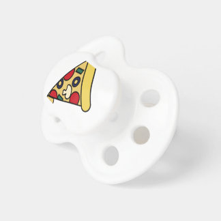 PIZZA BABY PACIFIERS