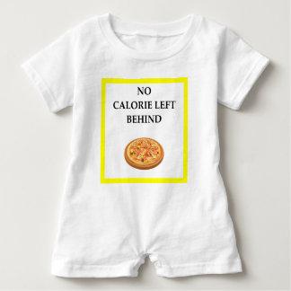 pizza baby romper