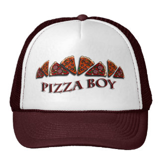 Pizza Boy Trucker Hats
