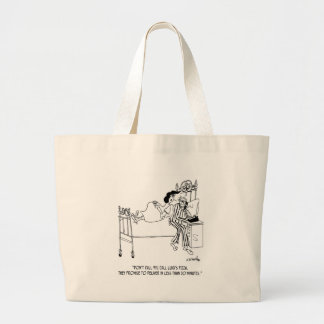 Pizza Cartoon 6991 Large Tote Bag