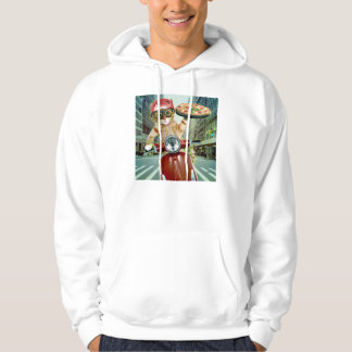 pizza cat - cat - pizza delivery hoodie