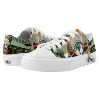 pizza cat - cat - pizza delivery Low-Top sneakers