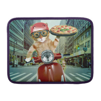 pizza cat - cat - pizza delivery MacBook sleeve