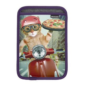 pizza cat - cat - pizza delivery sleeve for iPad mini