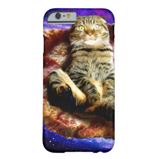 pizza cat - crazy cat - cats in space barely there iPhone 6 case