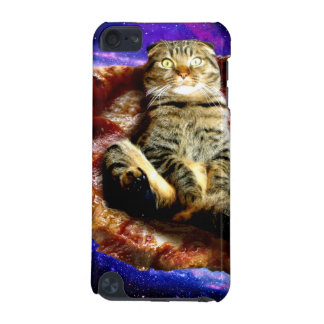 pizza cat - crazy cat - cats in space iPod touch 5G case