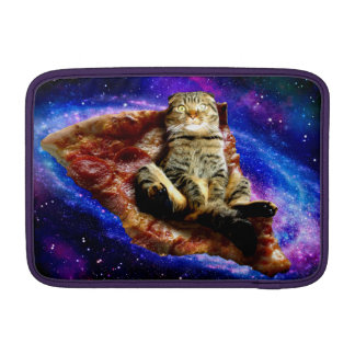 pizza cat - crazy cat - cats in space MacBook sleeve