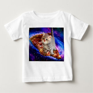 pizza cat - cute cats - kitty - kittens baby T-Shirt