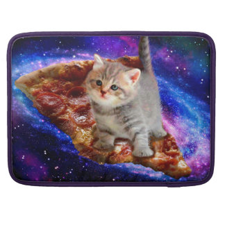 pizza cat - cute cats - kitty - kittens sleeve for MacBook pro