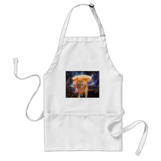 Pizza Cat in Space Wearing Pizza Slice Standard Apron